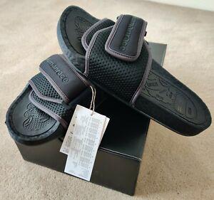 Adidas Boost Slide Pharrell Williams Black Chancletas HU Originals **RRP £85**