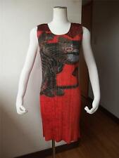 AD1998 RARE! ISSEY MIYAKE PLEATS PLEASE TIGER DESIGN VINTAGE ONE PIECE TUNIC 4