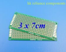 4, PCB Prototype Circuit Project Bread Boards GOLD PLATED Double Side 3x7m