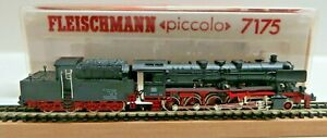 Fleischmann 7175 N Steam Locomotive Br 050 058 7 DB Cabin Border Tested Boxed