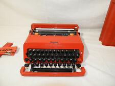 Vintage Valentine Olivetti Schreibmaschine Macchina da scrivere Typewriter Rare#