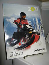 Ski-Doo Snowmobile 2011 Parts Accessories Riding Gear Catalog 128 Pages - Vg+