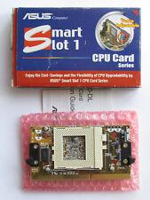 ASUS S370-DL Slot 1-Sockel 370 Adapter, Smart Slot 1 CPU Card Rev. 1.02 Vintage!