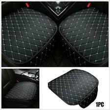 Auto Seat Cover Front Cushion Black PU Leather Universal Car Chair Accessories