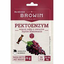Das Enzym zur Behandlung von Frucht / Obst  pektolytisches Wein