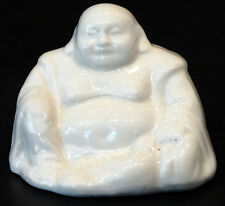 ANTIQUE Vintage CHINESE Porcelain China SEATED BUDDHA STATUE / WELL MARKED!