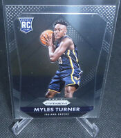 2015-16 Panini Prizm Basketball Myles Turner Rookie Card #340 PACERS