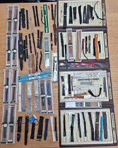 Bulk Lot Vintage Watch Straps Bracelets New Old Stock 1.7kg