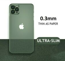360 Ultra 0.30mm Thin Slim Hard Case Shock Cover Mat fits iPhone 5 6 7 8 XR 11