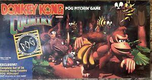 Vintage Donkey Kong Country Pog Pitchin' Game (Milton Bradley) MB 1995 Nintendo