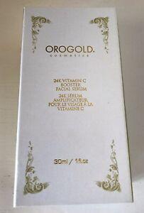 OROGOLD 24K Vitamin C Booster Facial Serum Anti Aging Brightening Face Serum