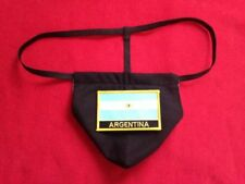 New Sexy Mens ARGENTINA World Cup Soccer Gstring Thong Underwear Male Lingerie