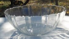 THICK CLEAR ARCOROC USA LOVELY GLASS PANEL SERVING BOWL