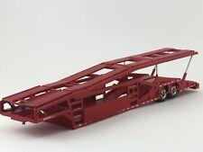 1/64 SPECCAST RED 5 CAR MILLER CAR CARRIER TRANSPORT TRAILER