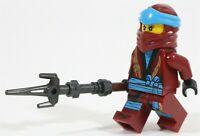LEGO NINJAGO SERPENTINE LEGACY NYA MINIFIGURE 70668 WATER NINJA ARMOUR ORIGINS