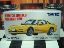 TOMICA LV-N174b MAZDA RX-7 TYPE R NEW IN BOX LIMITED VINTAGE NEO SERIES