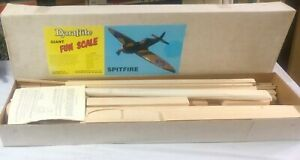Dynaflite Fun 1/5th Scale Spitfire kit NIB Vintage and collectible, very rare.