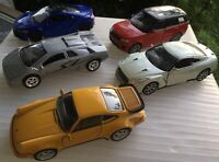 """Lot Of 5 Welly's DieCast Sport Cars - DieCast Life Like Sports Cars 3.5"""""""
