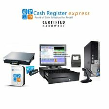 Point of Sale Retail Store Grocery Meat Produce Market w Scale POS CRE pcAmerica