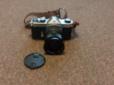 Asahi Pentax Spotomatic Camera lens and leather strap works great make neat prop