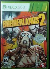 Borderlands 2 (Microsoft Xbox 360, 2012) GAME BRAND NEW & FACTORY SEALED!!!