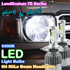 Toyota Landcruiser 70/76/78/79 LED Headlight Upgrade Kit (Pair of H4 LED Bulbs)
