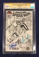 Amazing Spider-Man: Renew Your Vows #2 CGC 9.8 Signed by Stan Lee & Joanie Lee!!