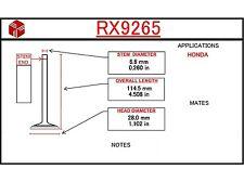 Exhaust Valve Rx9265 Itm Engine Components
