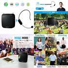 Voice Amplifier with Wireless Microphone Headset SHIDU 18 W 2.4G...  for sale
