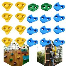 20 Pcs Textured Climbing Holds Rock Wall for Kid Multi Color Assorted Us Stock