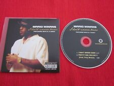 CD SINGLE MARIO WINANS FEAT ENYA & P.DIDDY I DON'T WANNA KNOW 2004