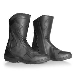 New RST Atlas CE 2470 Black Waterproof Motorcycle Dot-matrix Reflective Boots