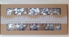 LED String Lights Battery Operated ~ Snowflake Garland Home Decor or Xmas Venue