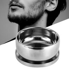 Men's Wet Shaving Stainless Steel Mug Bowl Layer With Lid Shave Tool Kit