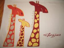 Für die JAKO-O Fans! Giraffen-T-Shirt, Gr. 116/122, SUPER Zustand! weiß/orange