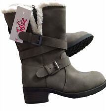 Justice Girls Size 1 Taupe Boots Style 120466