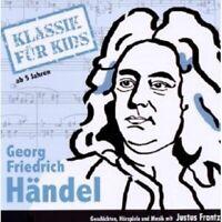 """KLASSIK FÜR KIDS """"GEORG FRIEDRICH HÄNDEL"""" CD NEU"""