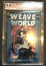 Weave World #1 PGX SS 9.0 SIGNED Clive Barker Marvel Epic 1991 Hellraiser Horror