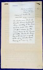 1895 PENNSYLVANIA Cambria County Borough of Patton School Bond Issue Document
