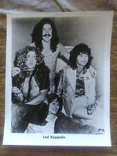 Led zeppelin 1973 Riot House at Hilton Poster Page Photo