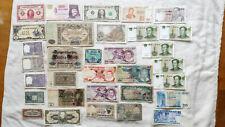 Job lot of world notes