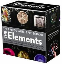 Photographic Card Deck of The Elements: With Big Beautiful Photographs of All 11