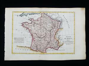 1787 BONNE: EMPIRE of FRANCE, PARIS, COTE D'AZUR, CANNES, BRITTANY, NANTES..