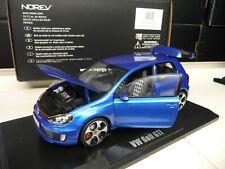 1:18 NOREV VW Golf 6 GTI blau blue metallic NEU NEW