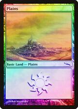 Plains (288) FOIL Mirrodin HEAVILY PLD Basic Land MAGIC GATHERING CARD ABUGames