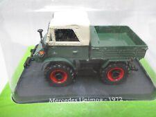 Mercedes Benz Unimog u406 1977 1:43 Hachette//UH voiture miniature zzz