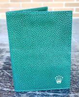 ROLEX Leather Wallet for Sea Dweller 4000ft Set Tool Kit Link Extension 16600 /