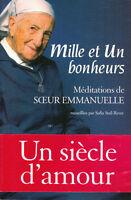 Livre mille et un bonheur méditations de Soeur Emmanuelle Sofia Stril-Rever book