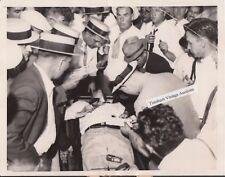 7/22/34 Gangster John Dillinger Lies Dead - Original AP News Photograph