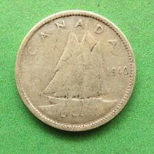 1940 Canada 10 cents SNo34450